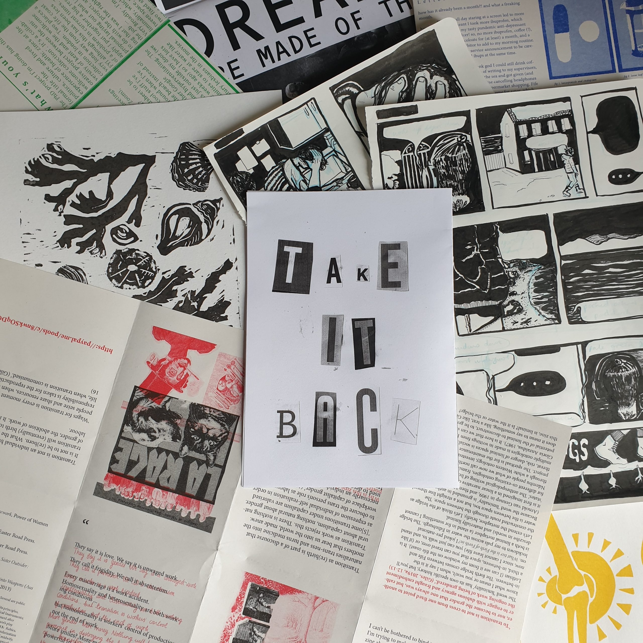 Take It Back: Zines, Madness and Mental Health